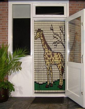 stippent-product-liso-vlieggordijn-giraffe