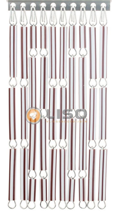 stippent-product-liso-vlieggordijn-bruin-wit-streep