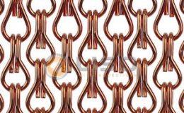 stippent-product-kettinggordijn-vlieggordijn-Dicht bruin extra dicht hangend